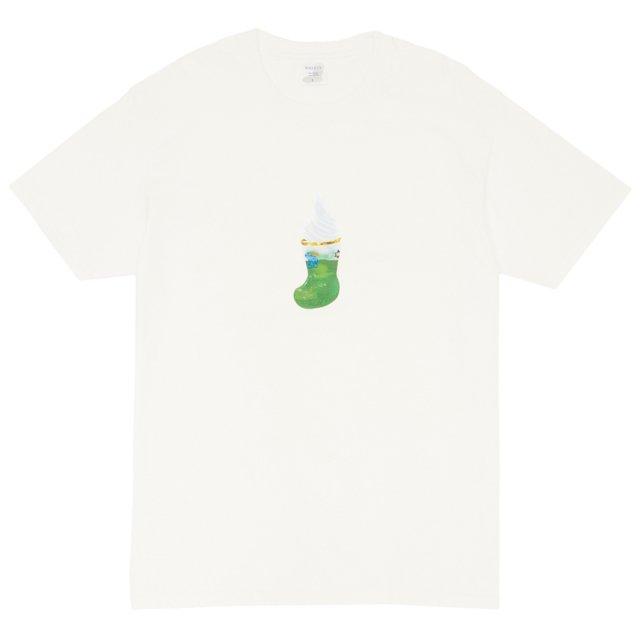 KOMEDA COFFEE x WHIMSY / CREAM SODA TEE WHITE
