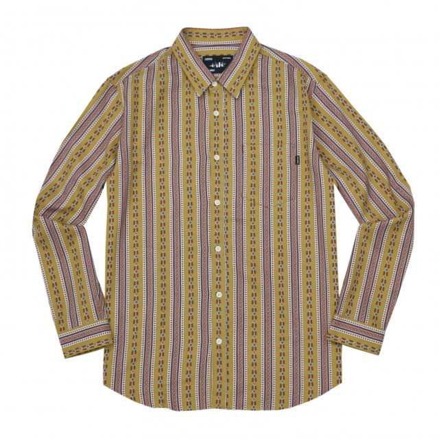 WHIMSY / FLORAL SHIRT YELLOW