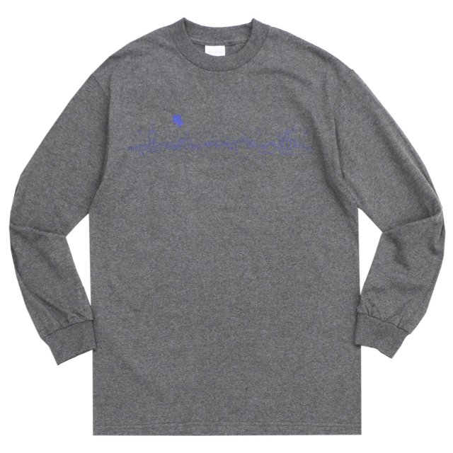 WHIMSY / CITY LIGHT L/S TEE CHARCOAL HEATHER