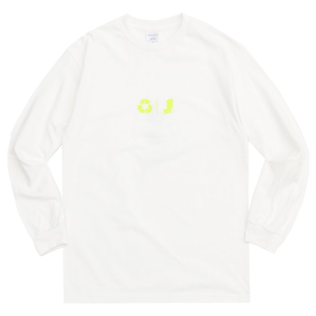 WHIMSY / FRESH DELIVERY L/S TEE WHITE