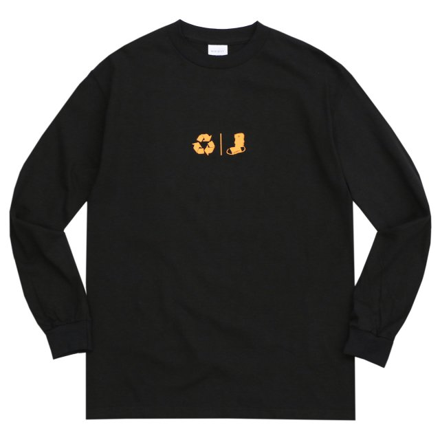 WHIMSY / FRESH DELIVERY L/S TEE BLACK