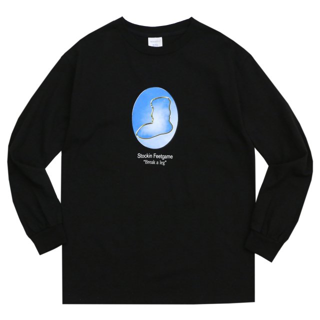 WHIMSY / YEAR BOOK L/S TEE BLACK