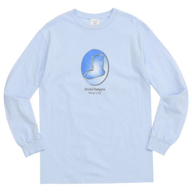 WHIMSY / YEAR BOOK L/S TEE POWDER BLUE