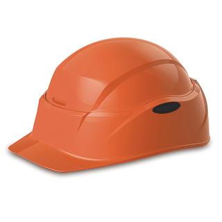 防災用ヘルメット クルボ オレンジ