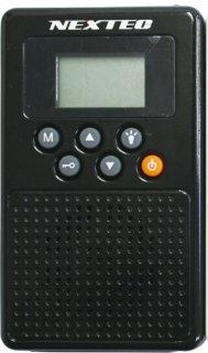 防災ラジオ ブラック NX-W109RDBK(W)