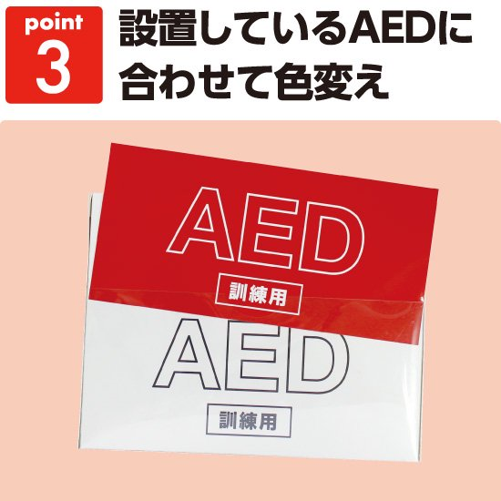 PUSH&AED体験セット49