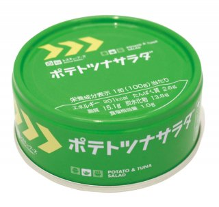 レスキューフーズ ポテトツナサラダ 24食入