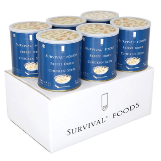 サバイバルフーズ 大缶 チキンシチュー×6缶