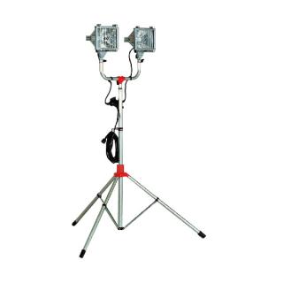 防災用ハロゲンライトセット 500W×2灯