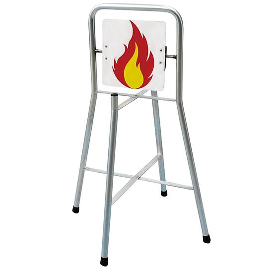 消火訓練用標的 回転式