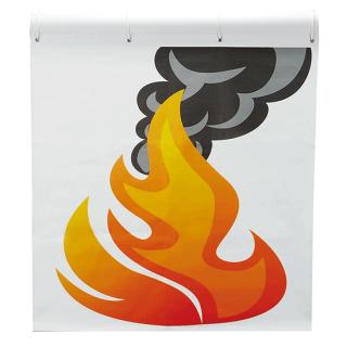 消火訓練用標的 炎