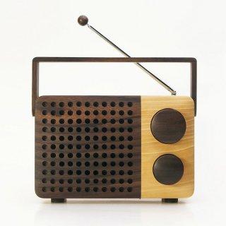 [送料無料] magno IKoNO++ 木のラジオ(AM・FMラジオ/スマートフォン・MP3接続対応)