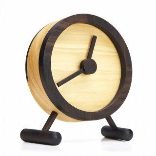 magno KLoKU 木の置き時計