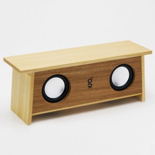 magno SPiKO-BT Western 木製Bluetooth スピーカー(ウェスタン)