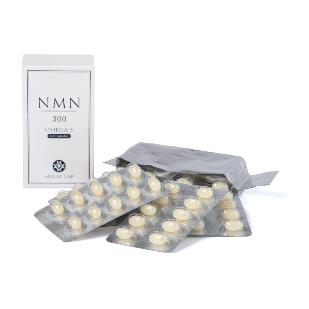 NMN+オメガ3  (60カプセル)