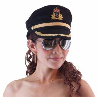 制服系バースレスクダンス衣装/パイロット帽子