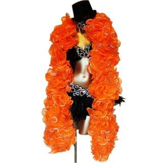 パッションオレンジ BIGボリューミーマラボー!バーレスクやポールダンスなどの衣装にもおすすめ【送料無料】