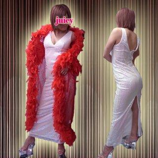【SALE】スパンコールロングドレス ワンピース