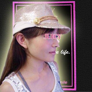 【SALE】スパンコール乗馬帽子/マリンハット