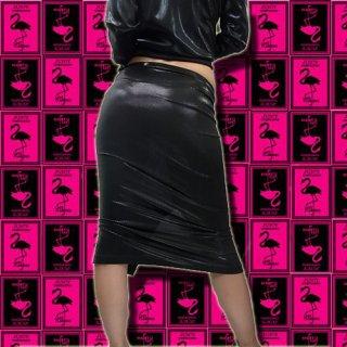 【SALE】ラインがセクシーな膝丈スカート
