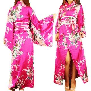 花魁オリエンタルロング丈ワンピース着物衣装ドレス