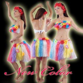ハワイアンフラダンス衣装/お花セットアップ