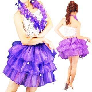 アイドル衣装 ボリュームパニエスカート&はりスパンセットアップ