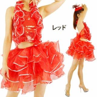 アイドル衣装フリフリパニエセットアップ