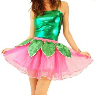 可愛いフェアリー妖精ミニスカート アイドル 衣装