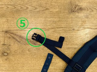 (5)胸凸バックル交換