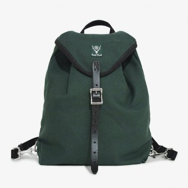 South2 West8 サウスツーウエストエイト - 18oz Canvas - Day Pack - Hunter Green