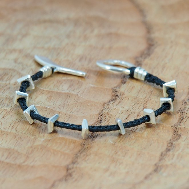 JILL PLATNERember braceletBlack