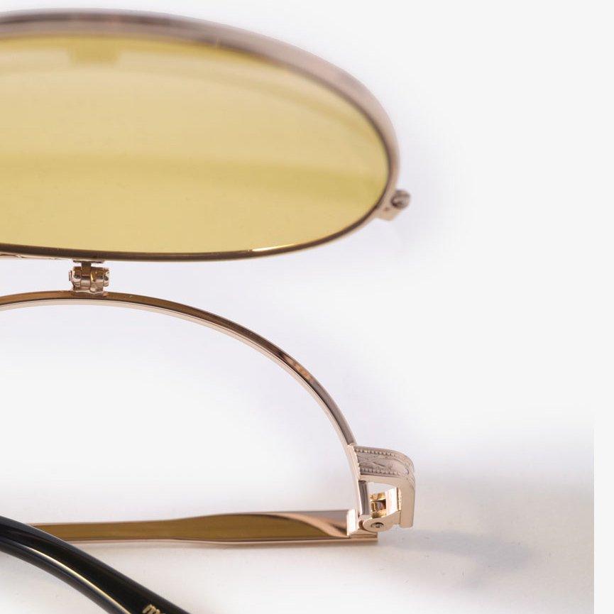 NeedlesGlasses - SeanSunglassGold