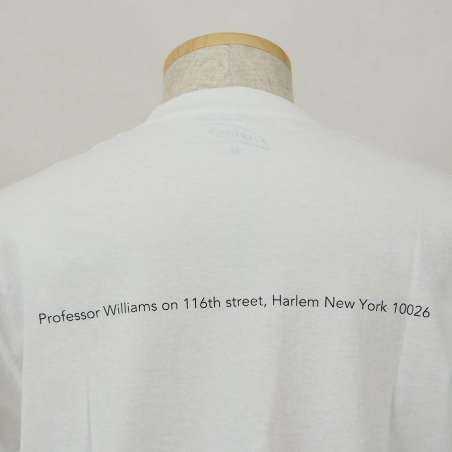 FilPhies - Professor Williams on 116th street, Harlem New York 10026 - White