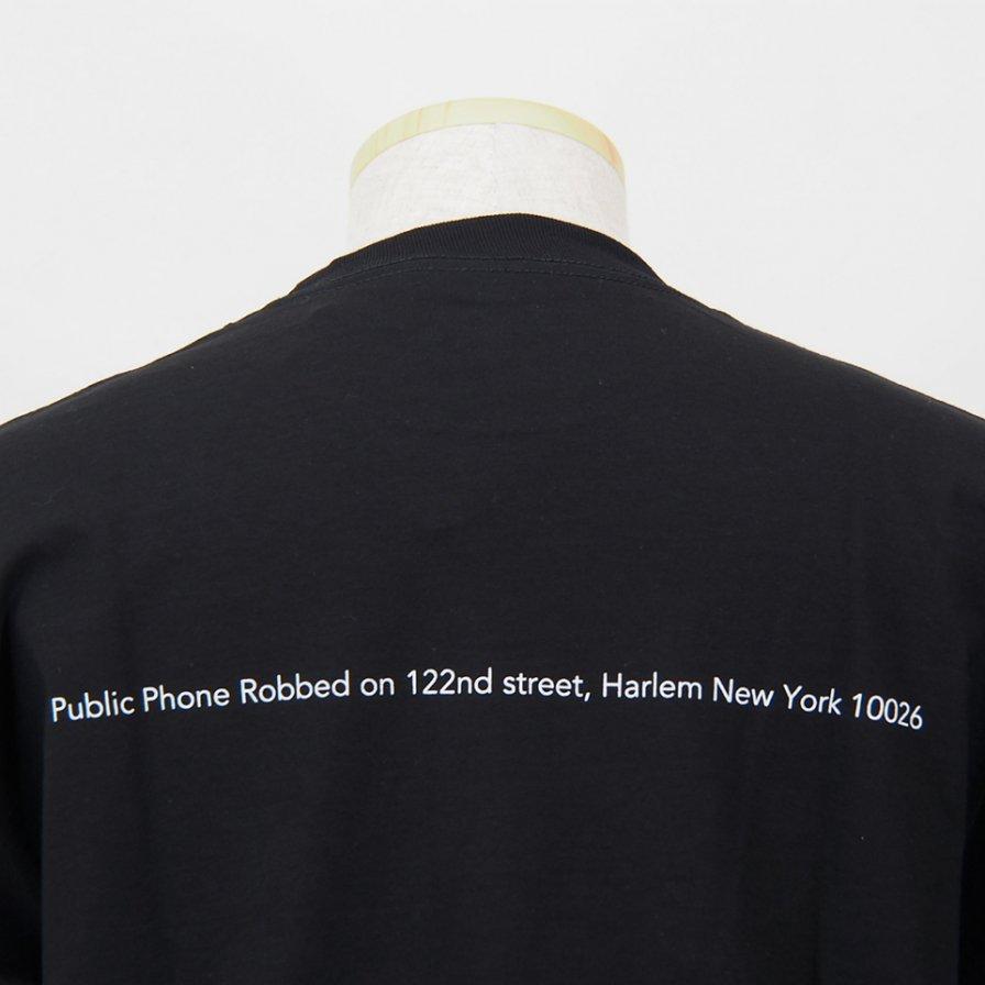 FilPhies - Public Phone Robbed on 122nd street,  Harlem New York 10026 - Black