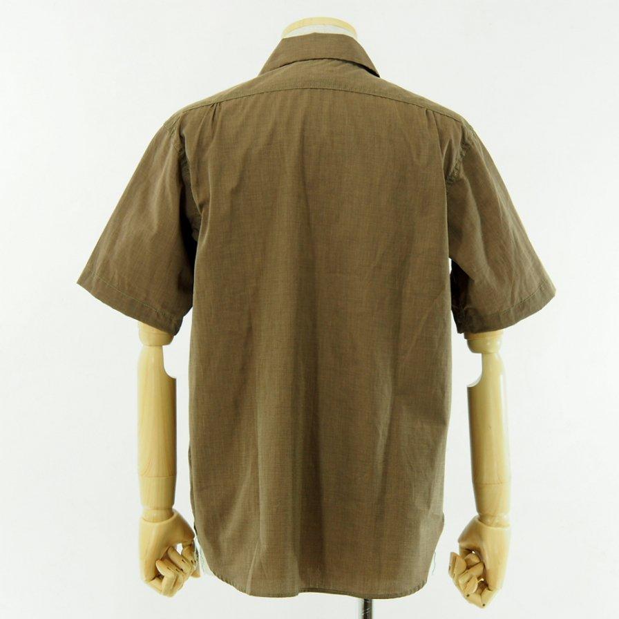 POST OVERALLS - E Z Cruz Shirt S/S - End On End - Copper