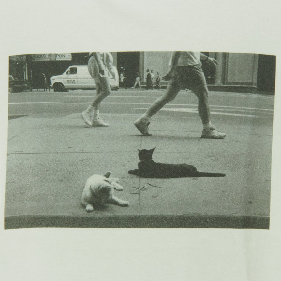 FilPhies - Two Cat on 57th Street in NYC 10009 in 1991 - White