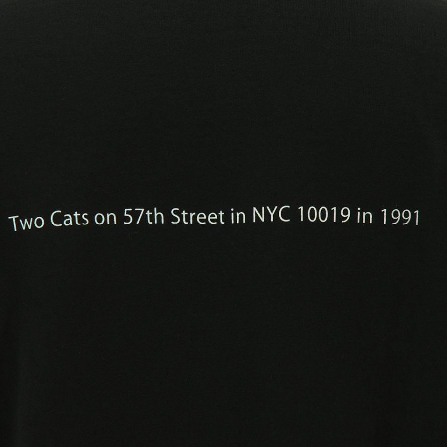 FilPhies - Two Cat on 57th Street in NYC 10009 in 1991 - Black