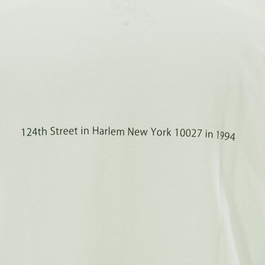 FilPhies フィルフィーズ - 124th Street in Harlem New York 10027 in 1994 - White