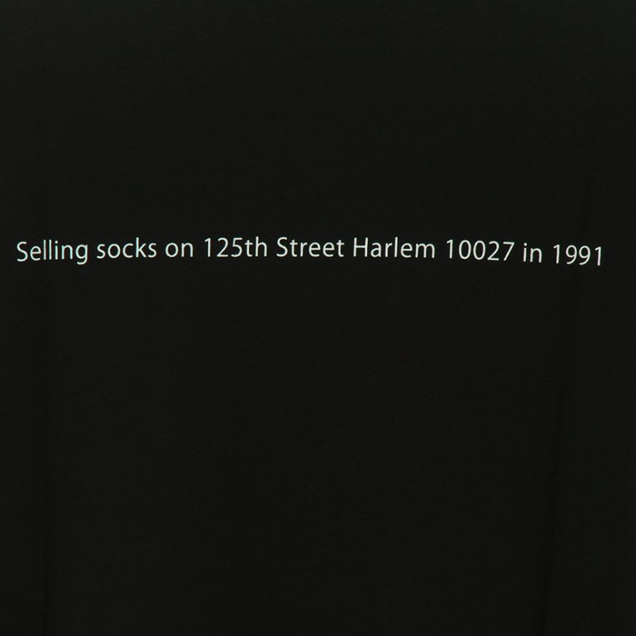 FilPhies フィルフィーズ - Selling socks on 125th Street Harlem 10027 in 1991 - Black