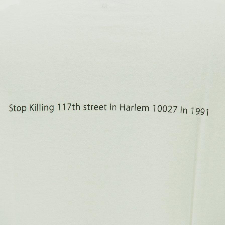 FilPhies フィルフィーズ - Stop Killing 117th Street in Harlem 10027 in 1991 - White