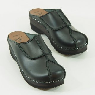 Needles ニードルズ × Troentorp トロエントープ  - Swedish Clog - Smooth / Gasset  - Black Stitch