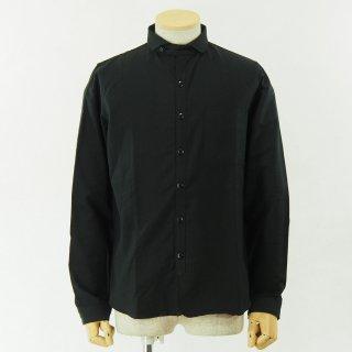 gorouta - Short Round Coller Shirt - Black