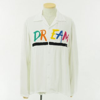 NOMA t.d. ノーマティーディー - Dream Emb. Shirt - White