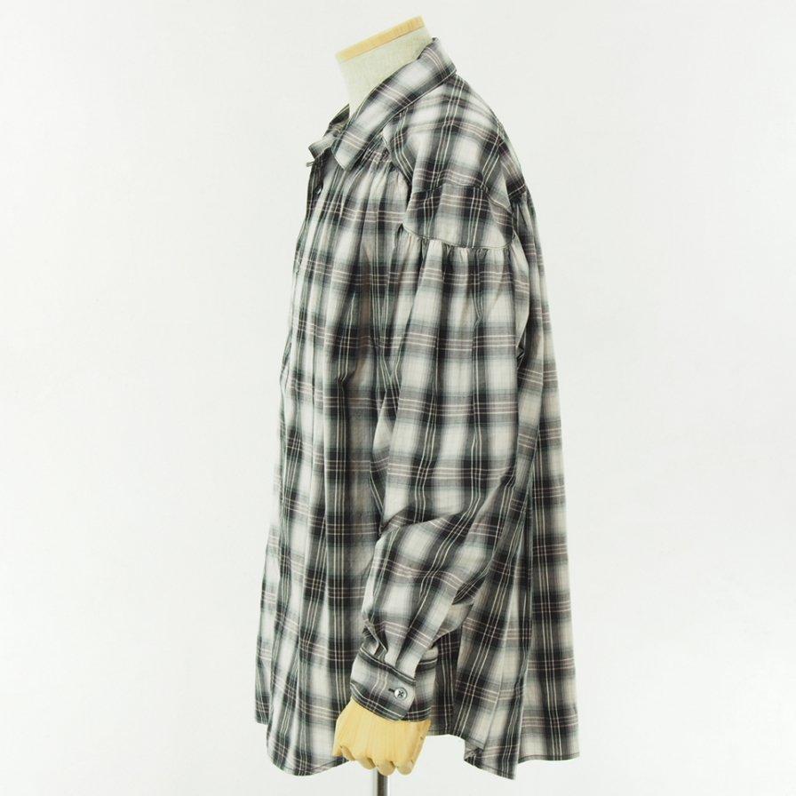 AiE - Painter Shirt - Shadow Plaid - Black/White/Purple