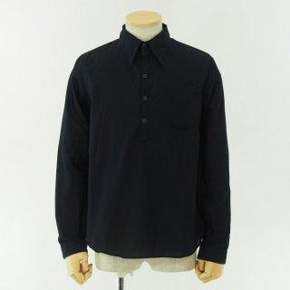 gorouta - Typewriter Pullover Shirt - Navy
