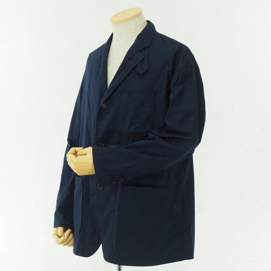 RANDT アールアンドティ - Studio Jacket - Pima Cotton Poplin - Navy