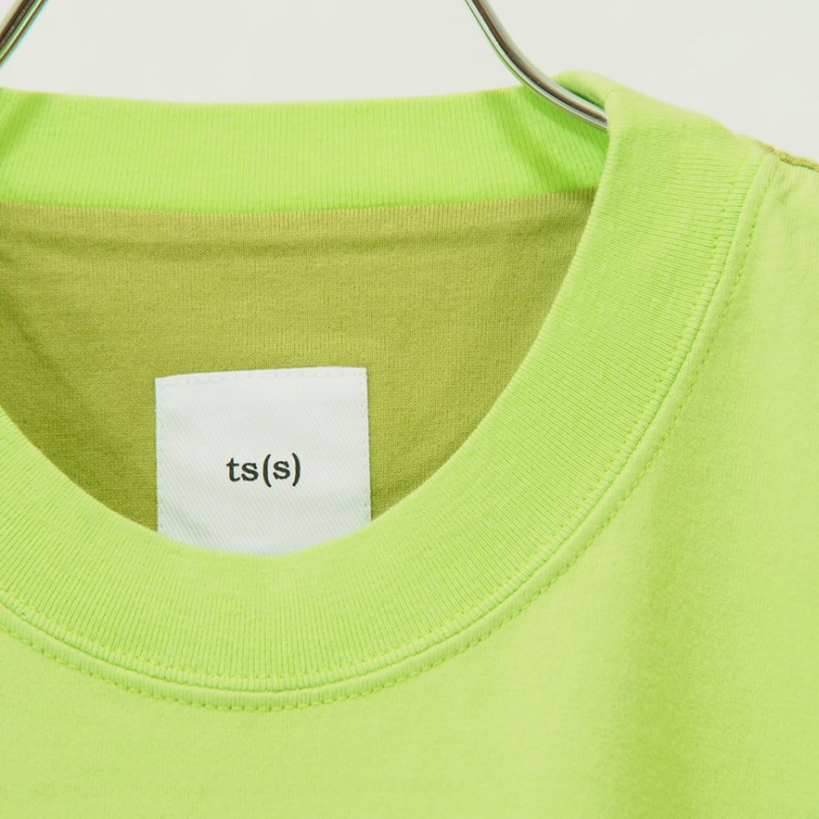 ts(s) - Color Panel Oversized Tshirt - Pistachio
