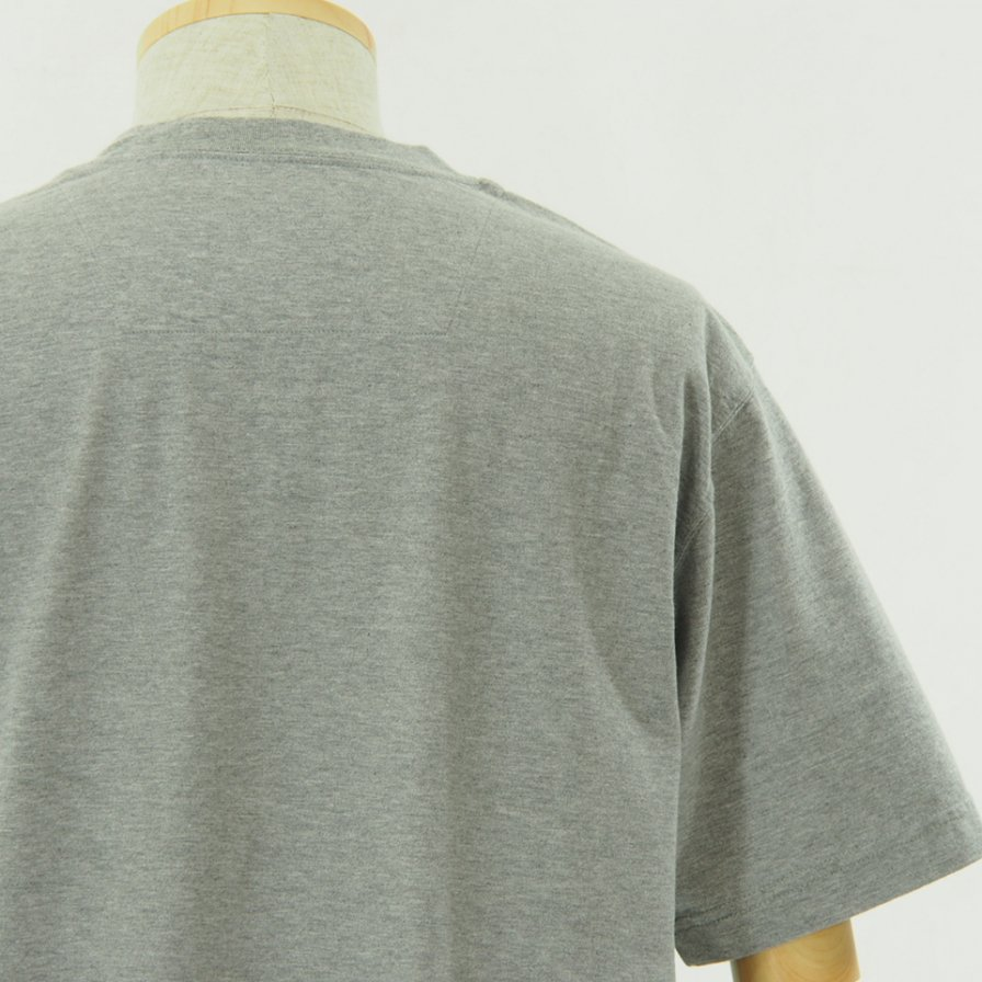 ts(s) ティーエスエス - Line Print Tshirt - Grey
