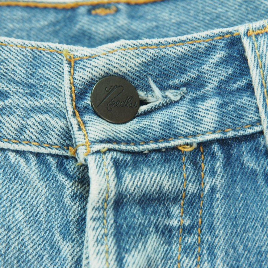 Rebuild by Needles - 501 → Zipper Pant / Bleach - 34 inch